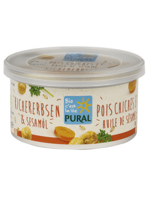 PATE VEGETAL POIS CHICHES